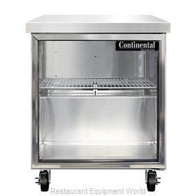 Continental Refrigerator SWF27NGD Freezer Counter, Work Top