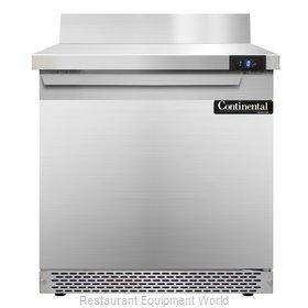 Continental Refrigerator SWF32-BS-FB Freezer Counter, Work Top