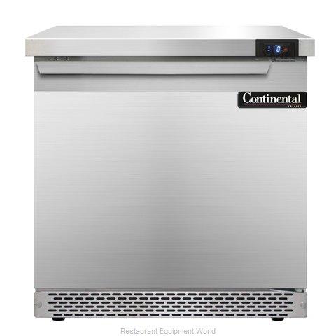 Continental Refrigerator SWF32-FB Freezer Counter, Work Top