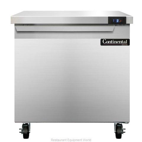 Continental Refrigerator SWF32 Freezer Counter, Work Top