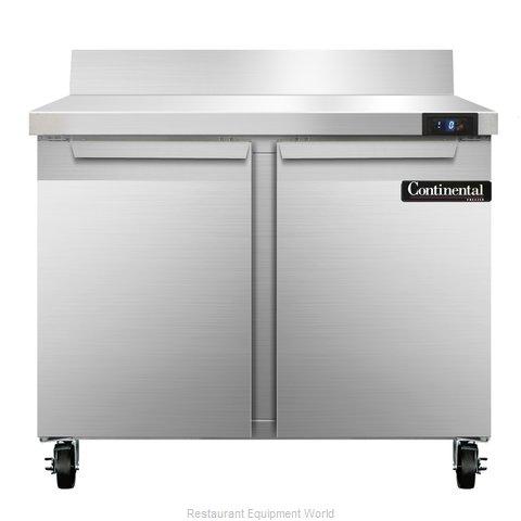 Continental Refrigerator SWF36-BS Freezer Counter, Work Top