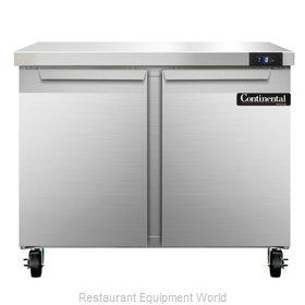 Continental Refrigerator SWF36 Freezer Counter, Work Top