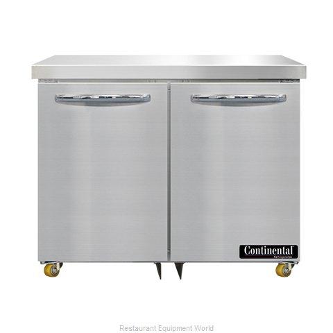 Continental Refrigerator SWF36N-U Freezer, Undercounter, Reach-In