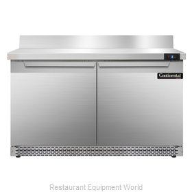 Continental Refrigerator SWF48-BS-FB Freezer Counter, Work Top
