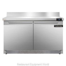 Continental Refrigerator SWF48-BS-FB Freezer Counter, Work Top