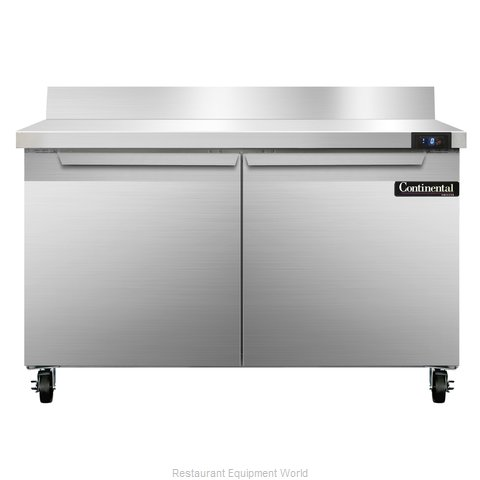 Continental Refrigerator SWF48-BS Freezer Counter, Work Top