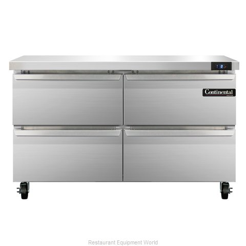 Continental Refrigerator SWF48-D Freezer Counter, Work Top