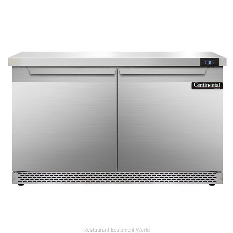 Continental Refrigerator SWF48-FB Freezer Counter, Work Top