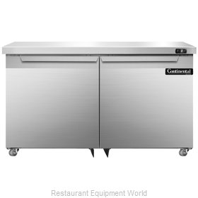 Continental Refrigerator SWF48-U Freezer, Undercounter, Reach-In