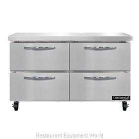 Continental Refrigerator SWF48N-D Freezer Counter, Work Top