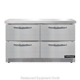 Continental Refrigerator SWF48N-FB-D Freezer Counter, Work Top