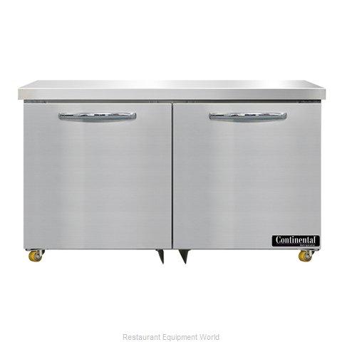 Continental Refrigerator SWF48N-U Freezer, Undercounter, Reach-In