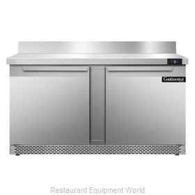 Continental Refrigerator SWF60-BS-FB Freezer Counter, Work Top