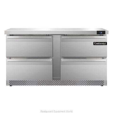 Continental Refrigerator SWF60-FB-D Freezer Counter, Work Top