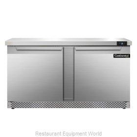Continental Refrigerator SWF60-FB Freezer Counter, Work Top