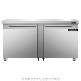 Continental Refrigerator SWF60-U Freezer, Undercounter, Reach-In
