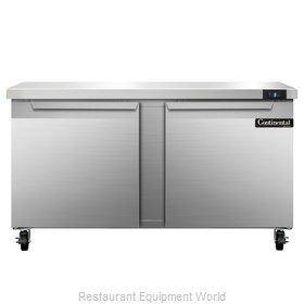 Continental Refrigerator SWF60 Freezer Counter, Work Top
