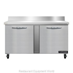 Continental Refrigerator SWF60NBS Freezer Counter, Work Top