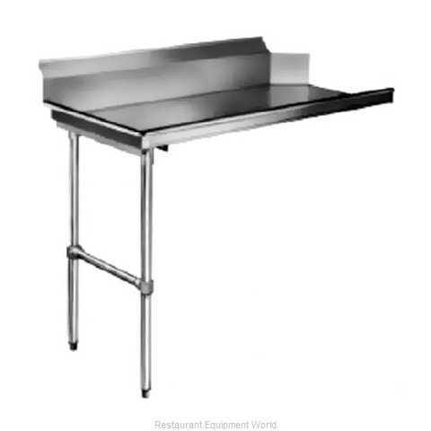 CMA Dishmachines CL-48 Dishtable, Clean Straight (Magnified)