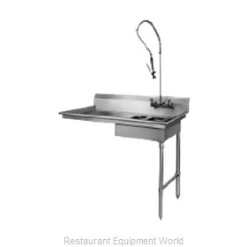 CMA Dishmachines SR-U Dishtable, Soiled, Undercounter