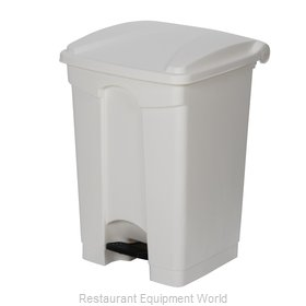 Continental 12WH Trash Receptacle, Indoor