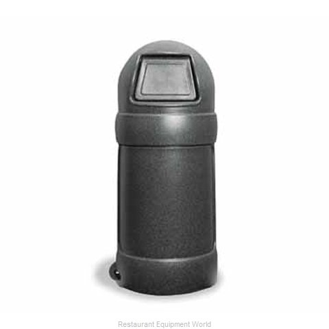 Continental 1305BKS Trash Garbage Waste Container Stationary