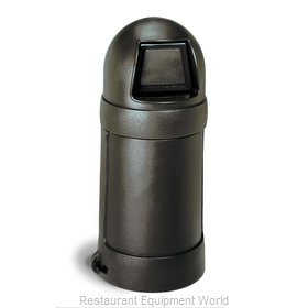 Continental 1305BN Trash Receptacle, Indoor