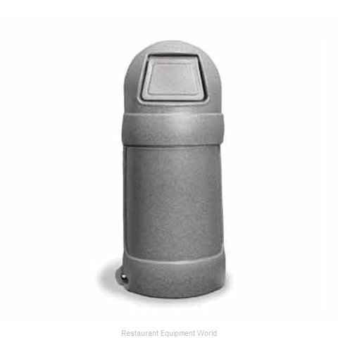 Continental 1305GYS Trash Garbage Waste Container Stationary