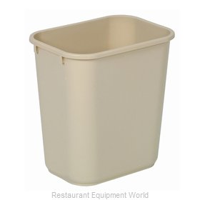 Continental 1358BE Waste Basket, Plastic