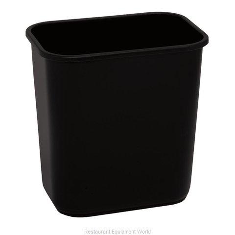 Continental 1358BK Waste Basket, Plastic