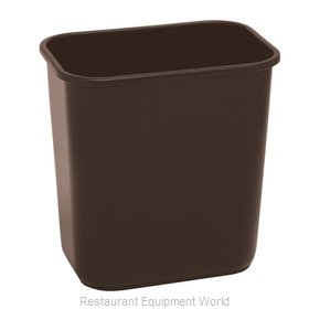 Continental 1358BN Waste Basket, Plastic