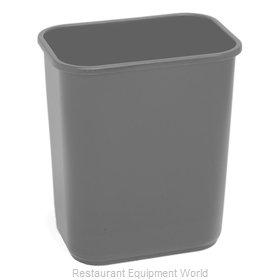 Continental 1358GY Waste Basket, Plastic