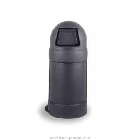 Continental 1425GY Trash Garbage Waste Container Stationary