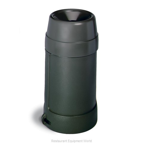 Continental 1430BK Trash Garbage Waste Container Stationary
