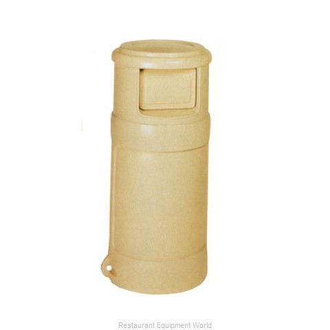 Continental 1432GY Trash Garbage Waste Container Stationary