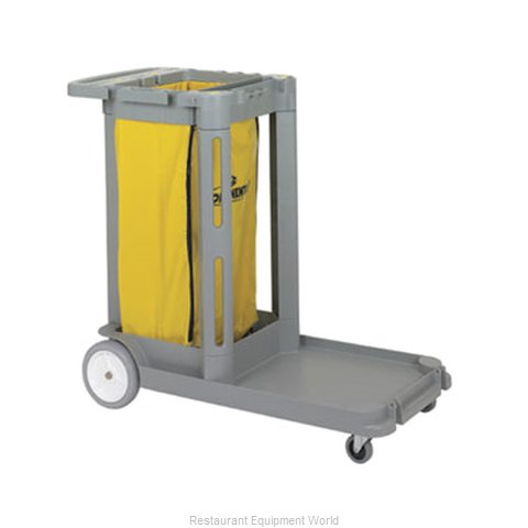 Continental 182GY Cart Janitor