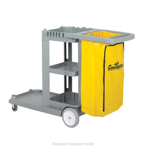 Continental 184GY Cart Janitor