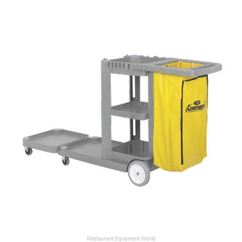 Continental 186GY Cart Janitor