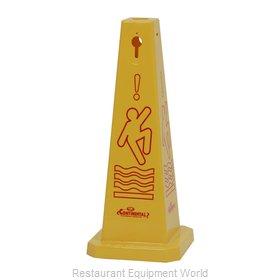 Continental 221YW Sign, Wet Floor