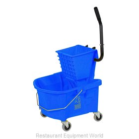 Continental 226-312BL Mop Bucket Wringer Combination