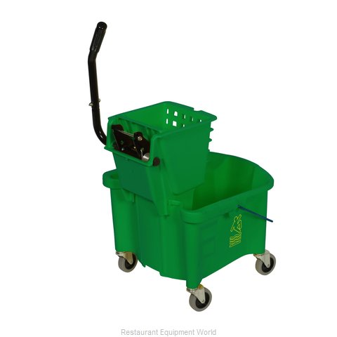 Continental 226-312GN Mop Bucket Wringer Combination