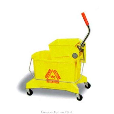 Continental 266-36YW Mop Bucket Wringer Combination
