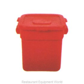 Continental 2811RD Cover, Garbage Waste Receptacle Can