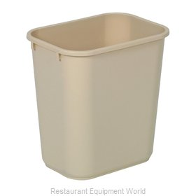 Continental 2818BE Waste Basket, Plastic