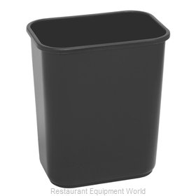 Continental 2818BK Waste Basket, Plastic
