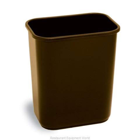 Continental 2818BN Waste Basket, Plastic