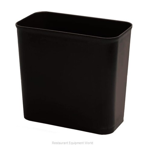 Continental 2927BK Waste Basket, Plastic