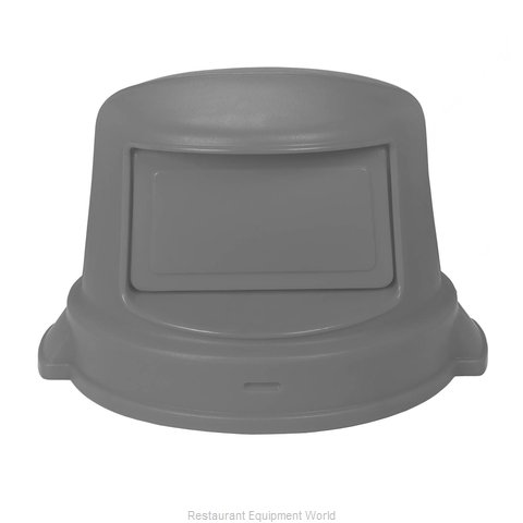 Continental 3232GY Cover Garbage Waste Receptacle Can