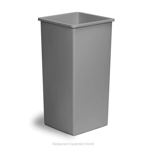 Continental 32GY Trash Receptacle, Indoor