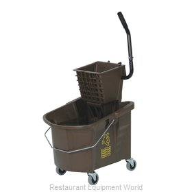 Continental 335-312BZ Mop Bucket Wringer Combination